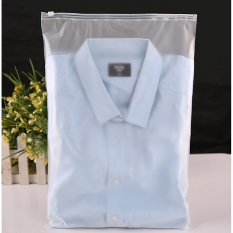 F3 Frosted plastic bag with zip lock (28cmX40cm,1pc)