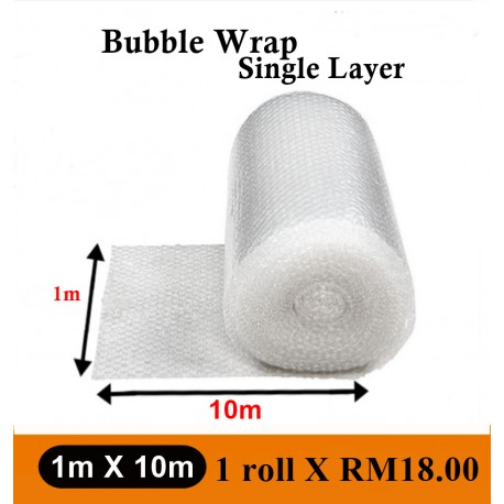 Bubble Wrap Single Layer (1M X10M)