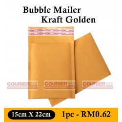 Bubble Mailer Padded Envelop 15X22cm, 1pc