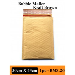 BUBBLE MAILER PADDED ENVELOP 30X43cm, 1PC