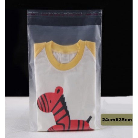 Frosted Self-adhesive Bag 24cmx35cm