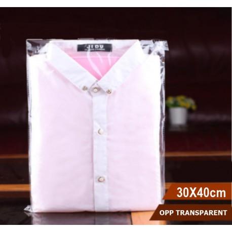 OPP Self-adhesive Plastic Bag 30x40cm,100pcs