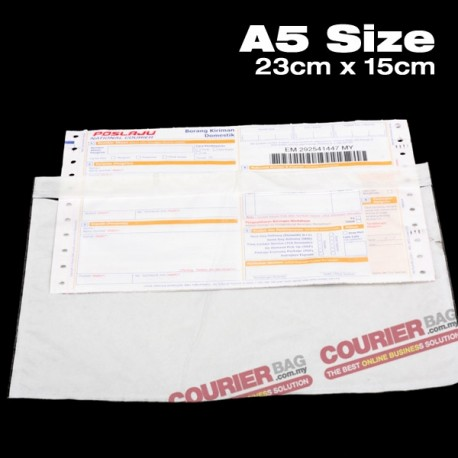 A5 size consignment note sticker pocket (100pcs)