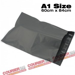 A1 size black courier bag (60 x 84 cm, 100pcs)