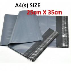 A4(s) size Black courier bag (25 x 35 cm, 100pcs)