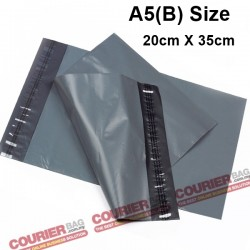 A5(B) size black courier bag (20 x 35 cm, 100pcs)