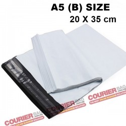 A5(B) size white courier bag (20 x 35 cm, 100pcs)