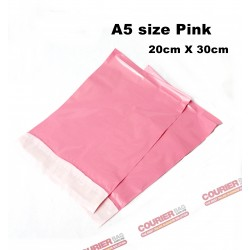 A5 size pink courier bag ( 20 X 30cm, 10pcs)